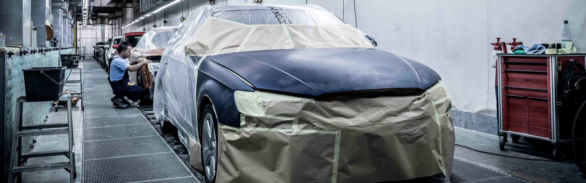 Fahrzeuglackierung / Autolackierung / Lack Aufbereitung