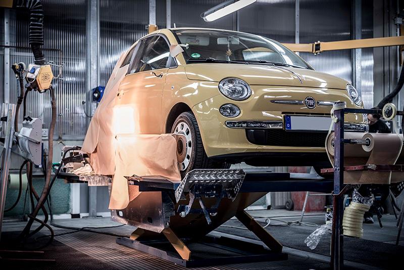 Smart-Repair Fahrzeuglackierung