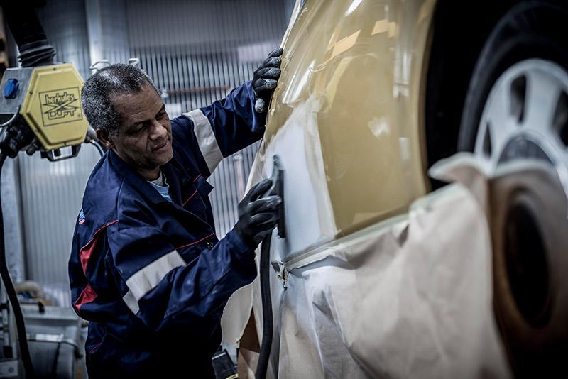 Fahrzeuglackierung Teillackierung Smart Repair