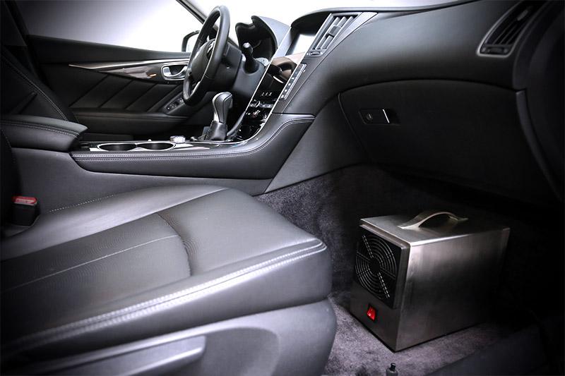 Geruchsneutralisierung / Gerüche im Auto entfernen